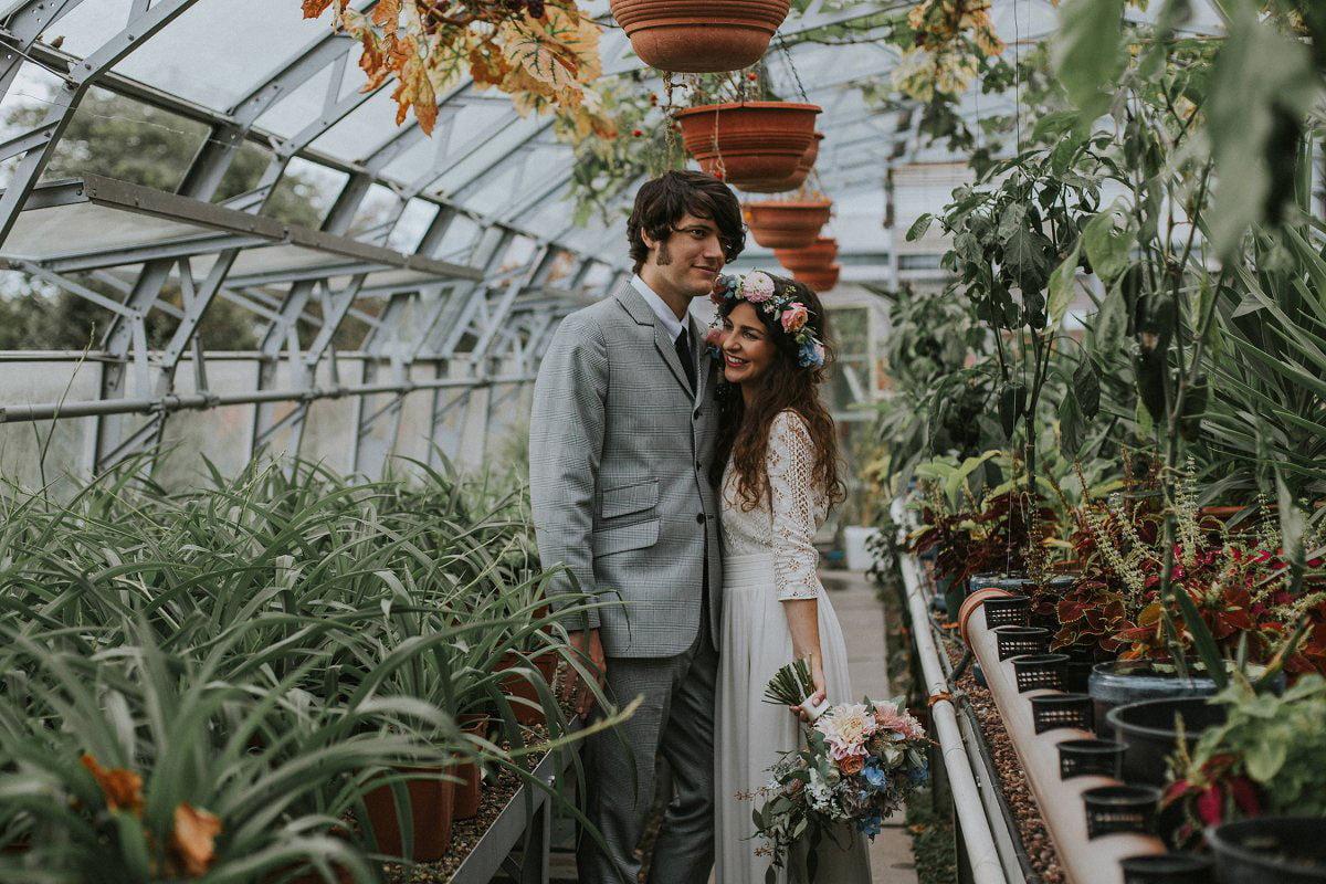 botanical style wedding inspiration