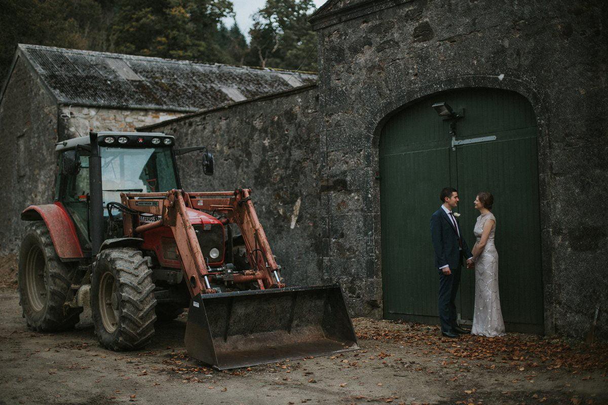 rustic wedding scotland
