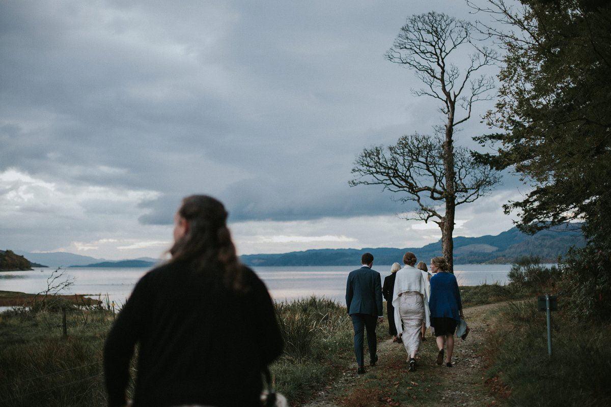 loch fyne scotland wedding