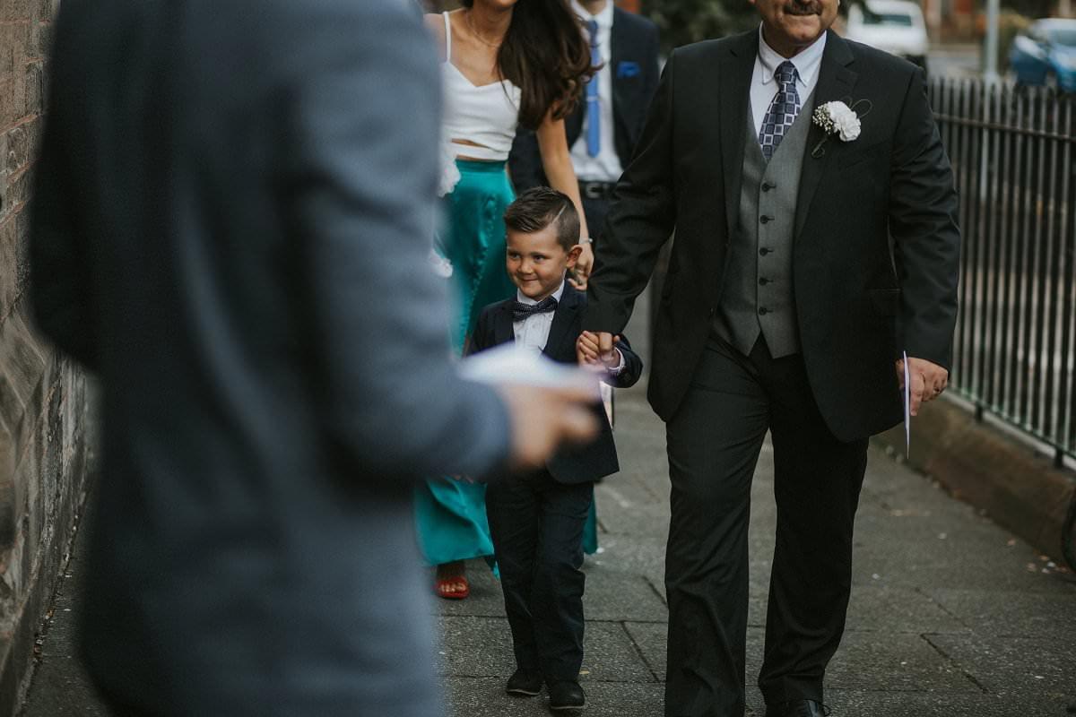 wedding guests natural