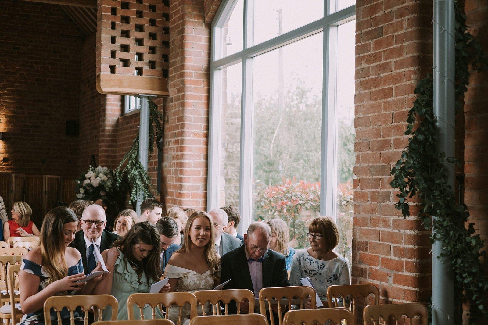 wedding swallows nest barn warwick