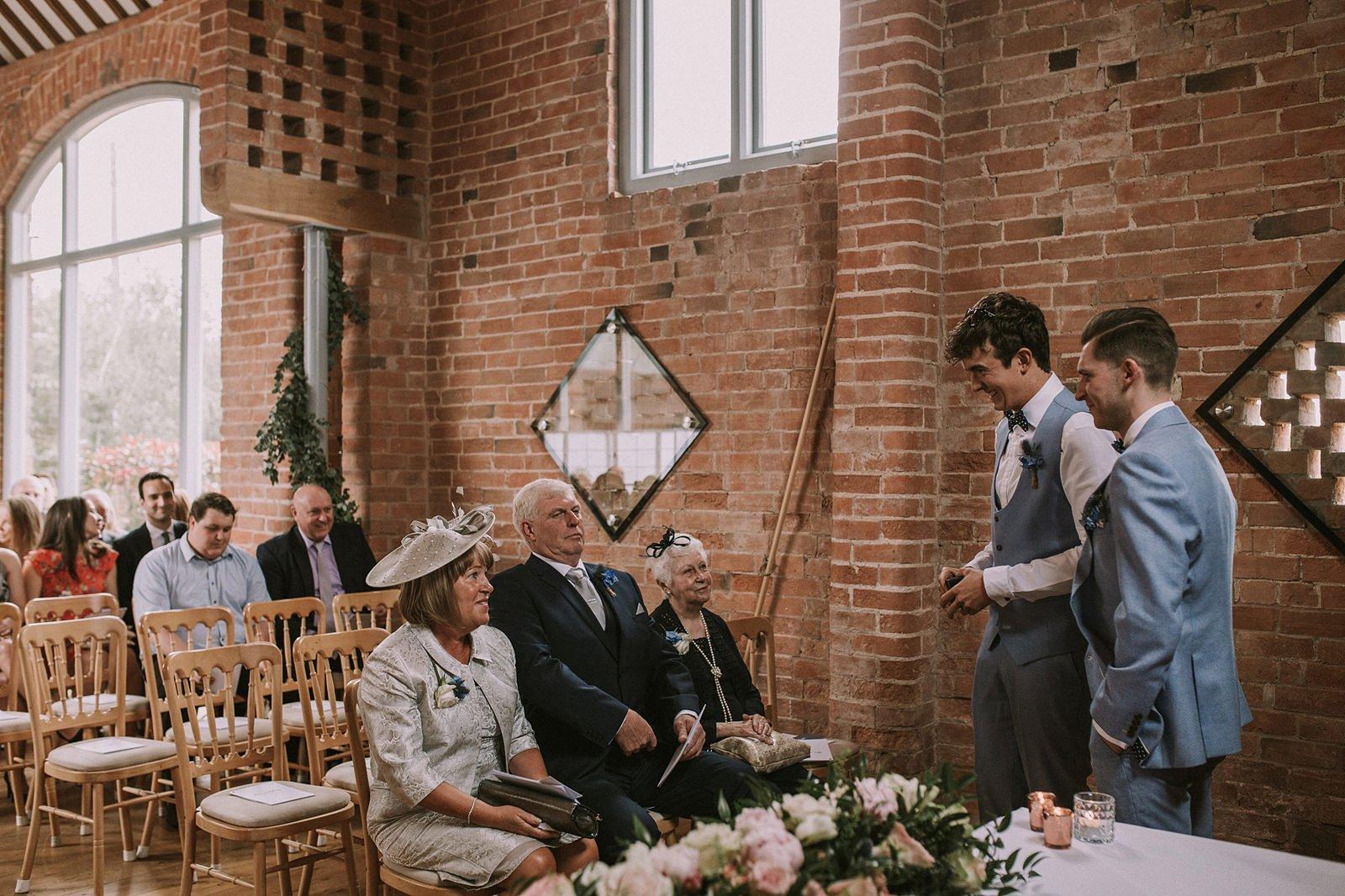 wedding photography swallows nest barn
