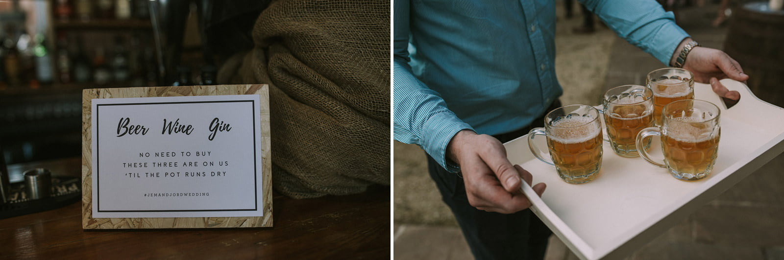 swallows nest barn creative wedding