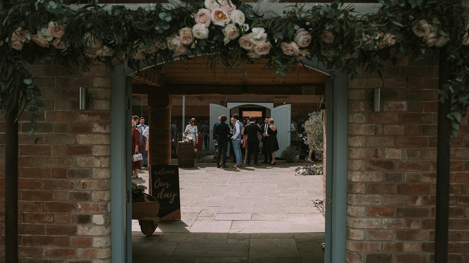 creative barn wedding