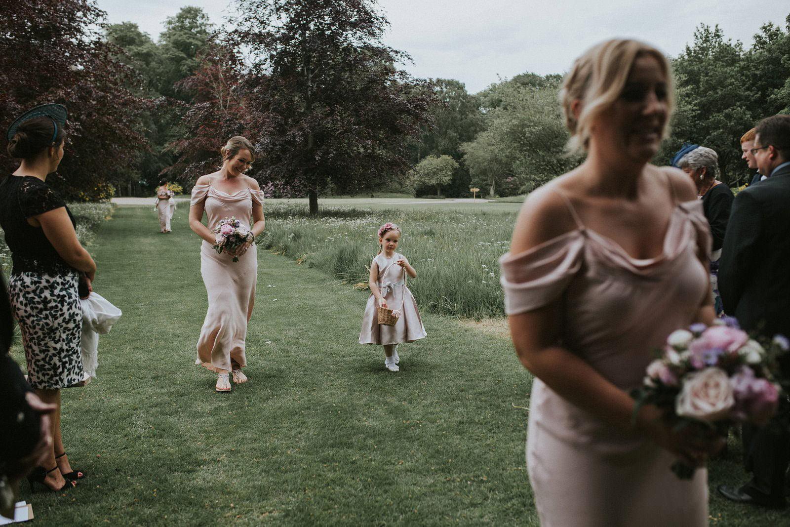 myres castle wedding photography