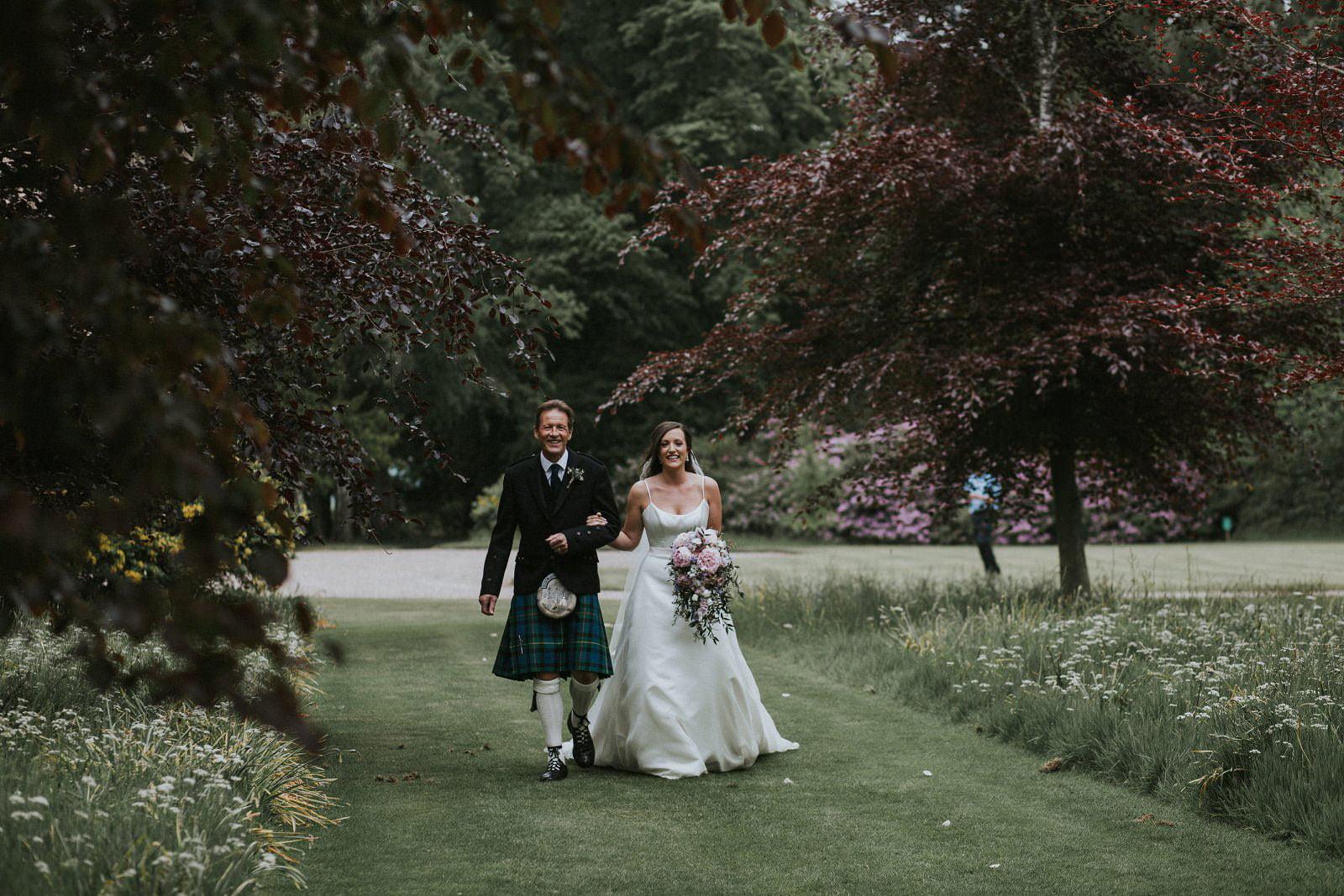 myres castle wedding scotland