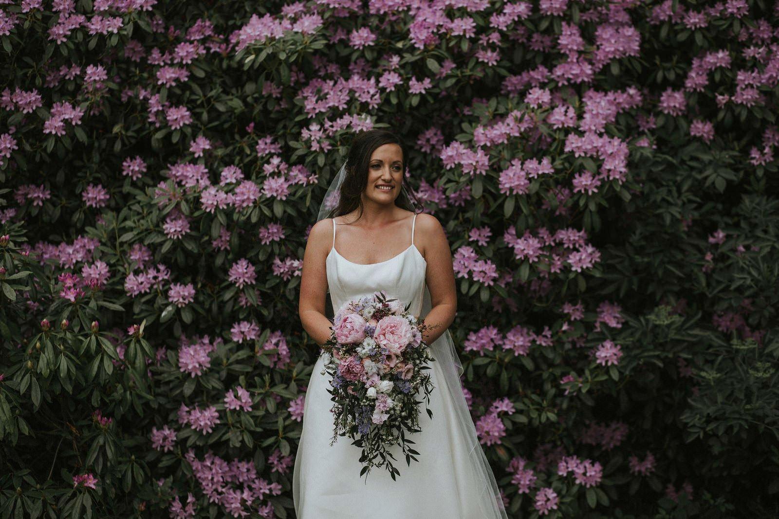 myres castle bride
