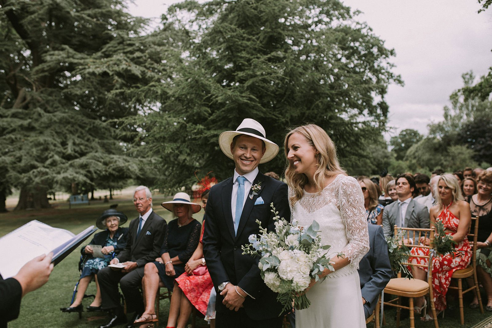 outdoor ceremony maunsel house