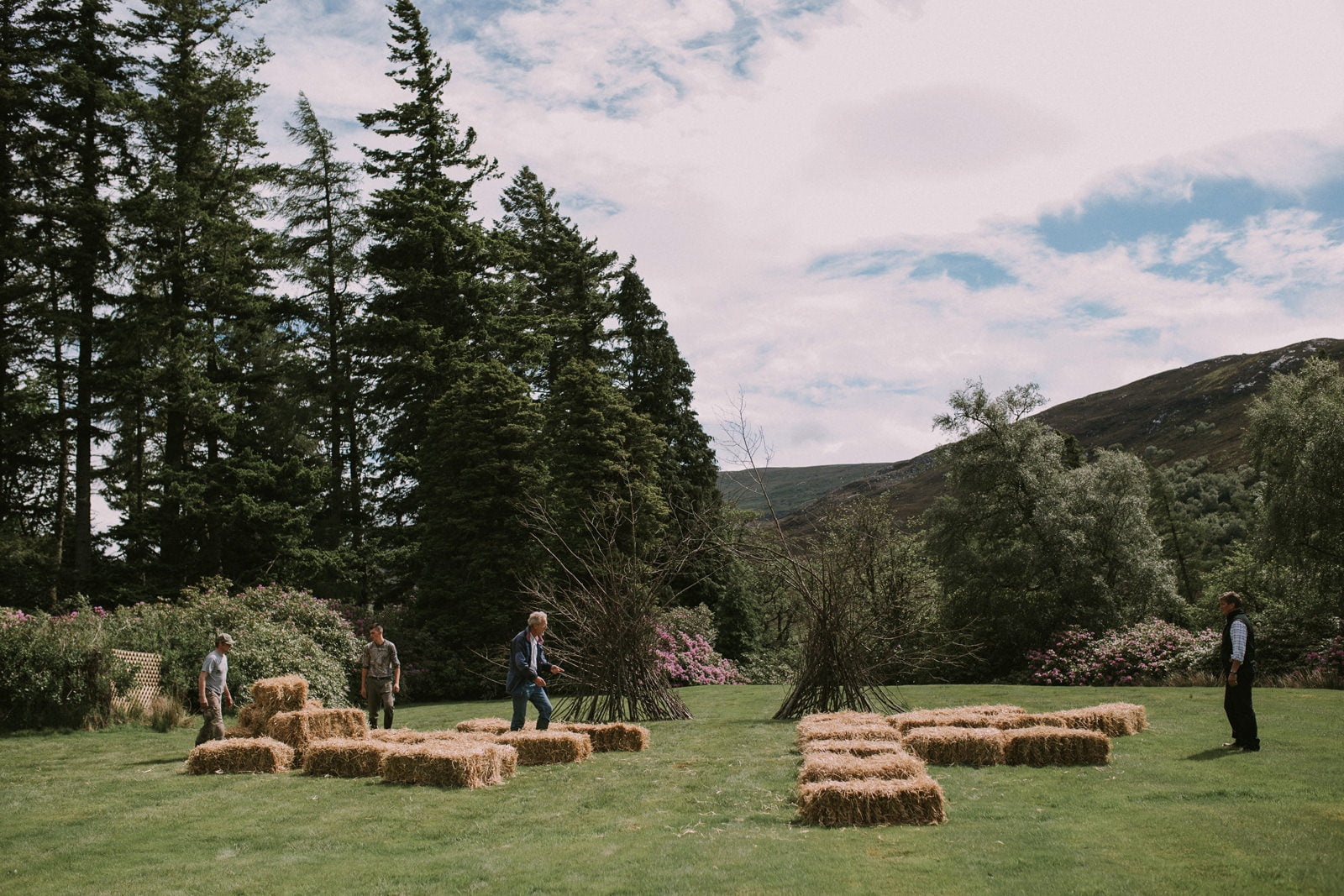 rustic wedding scotland