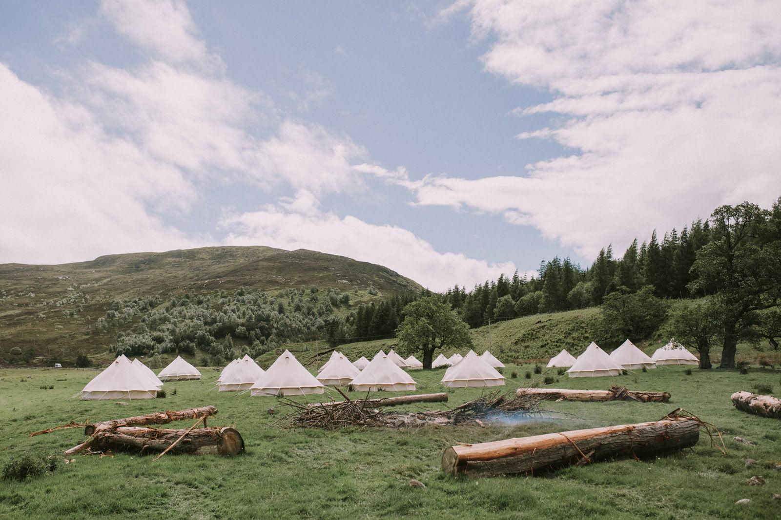 rustic scottish highlands wedding