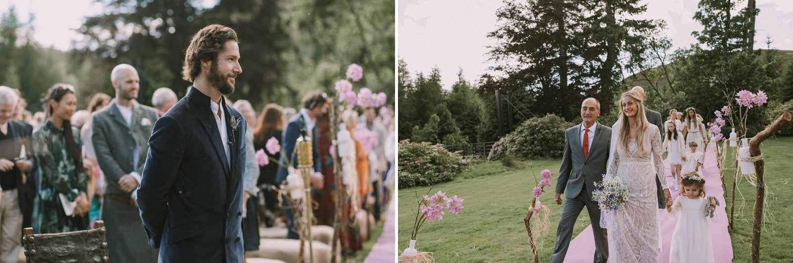 rustic scotland wedding