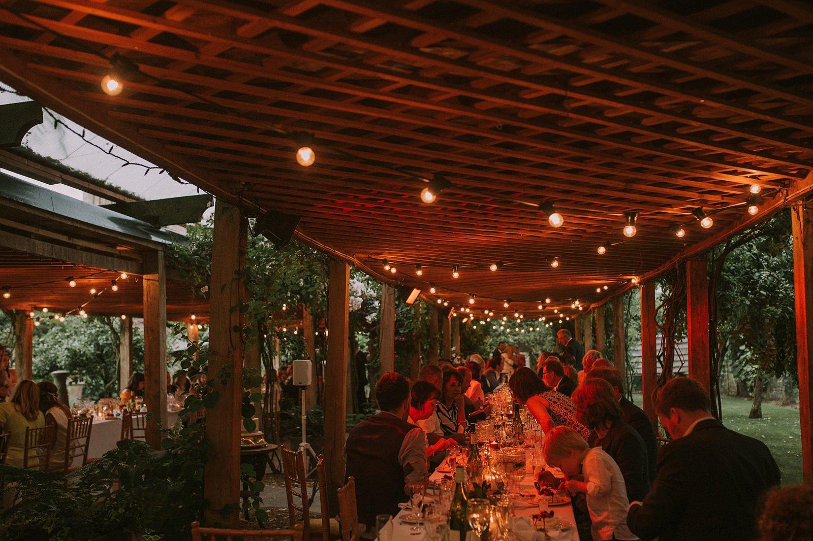 wedding dining maunsel house
