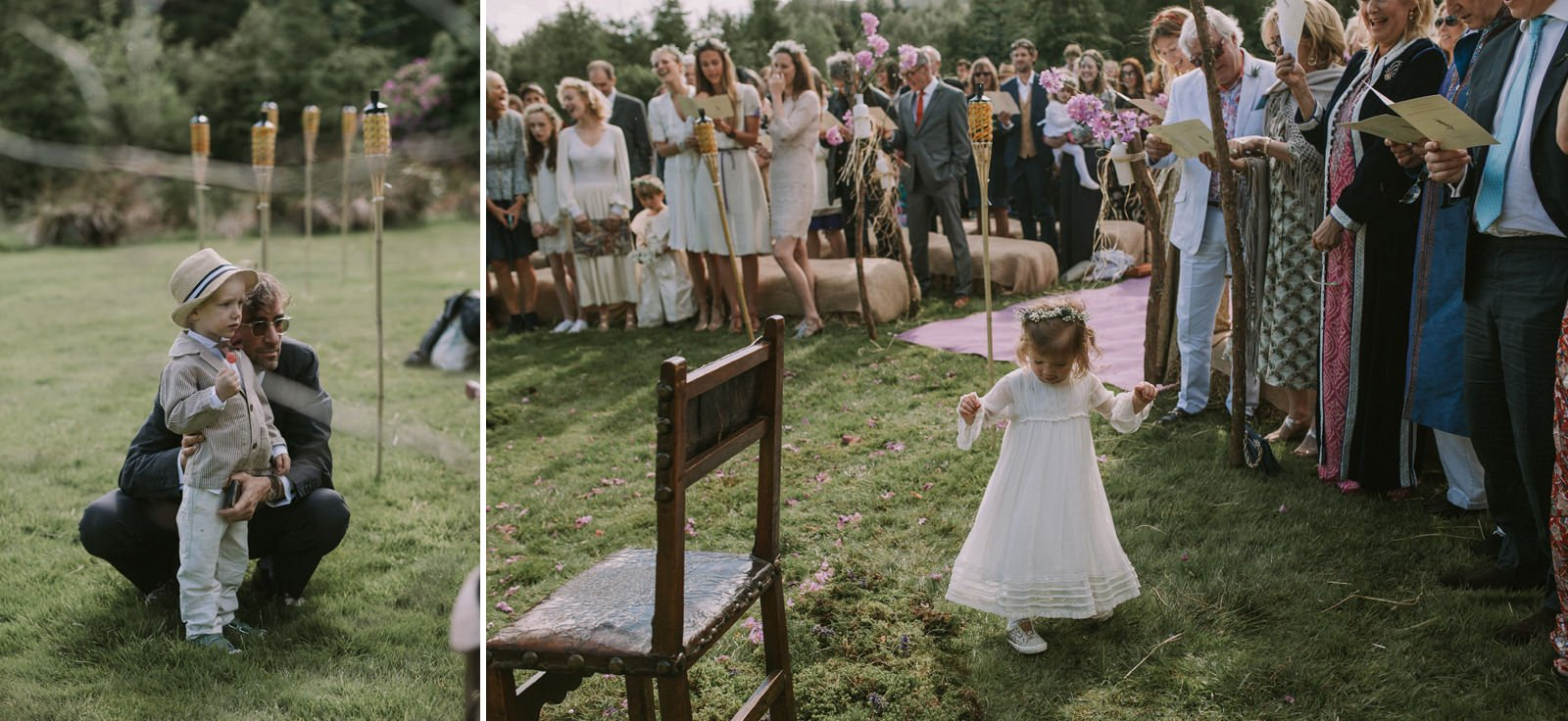 natural wedding ceremony photography