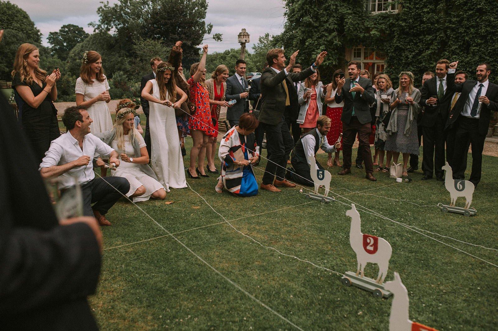 free-spirited wedding somerset