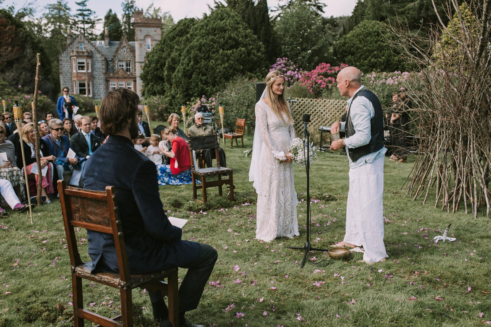 soulful wedding ceremony scotland