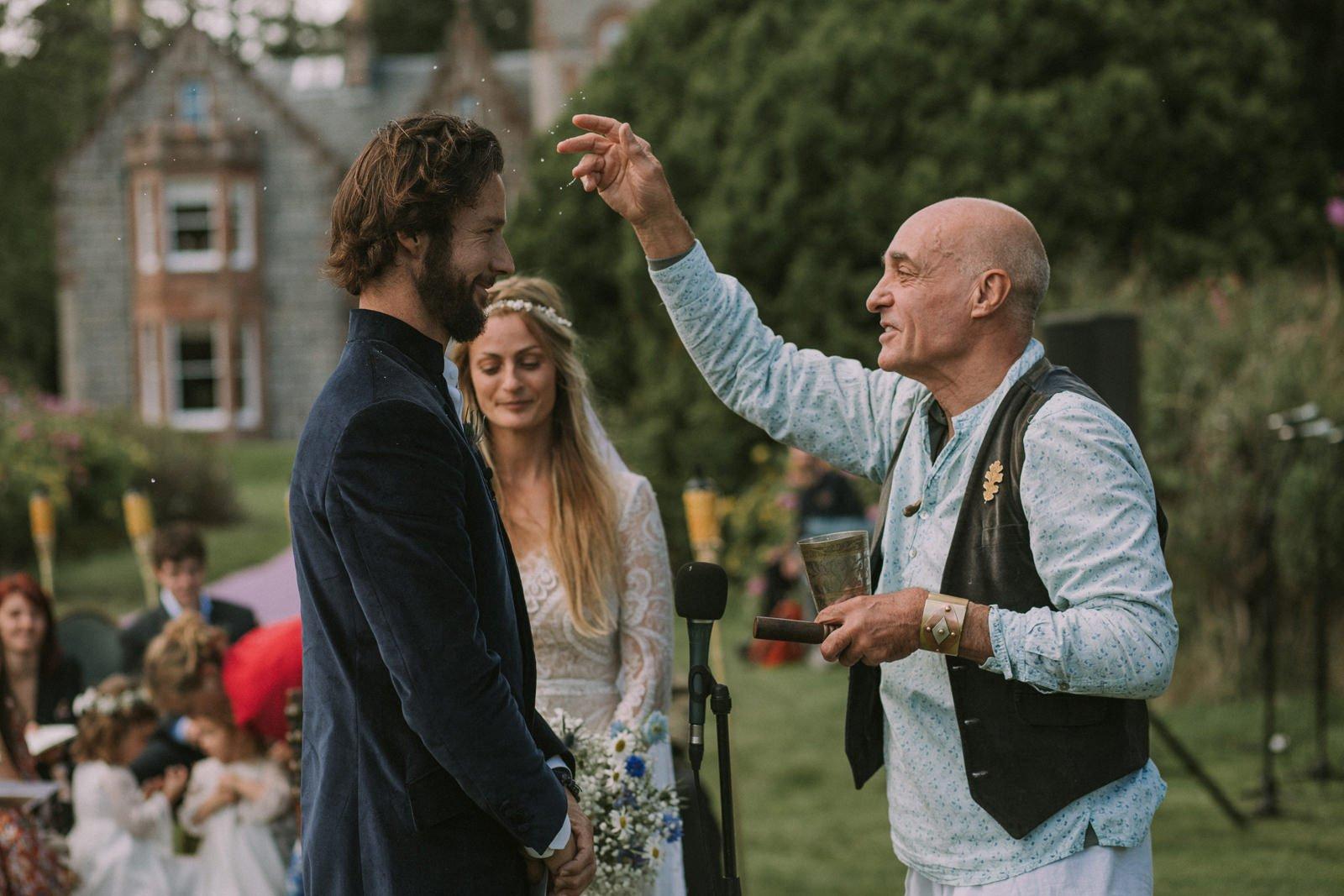 spiritual wedding ceremony scotland