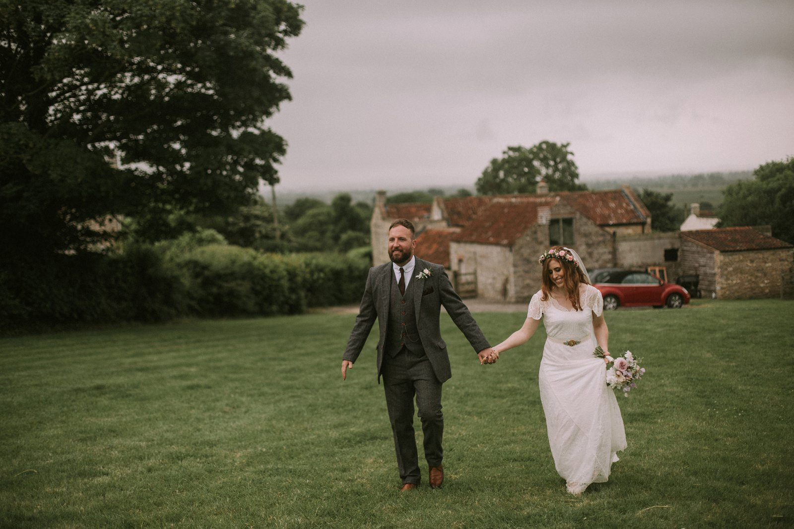 natural somerset wedding