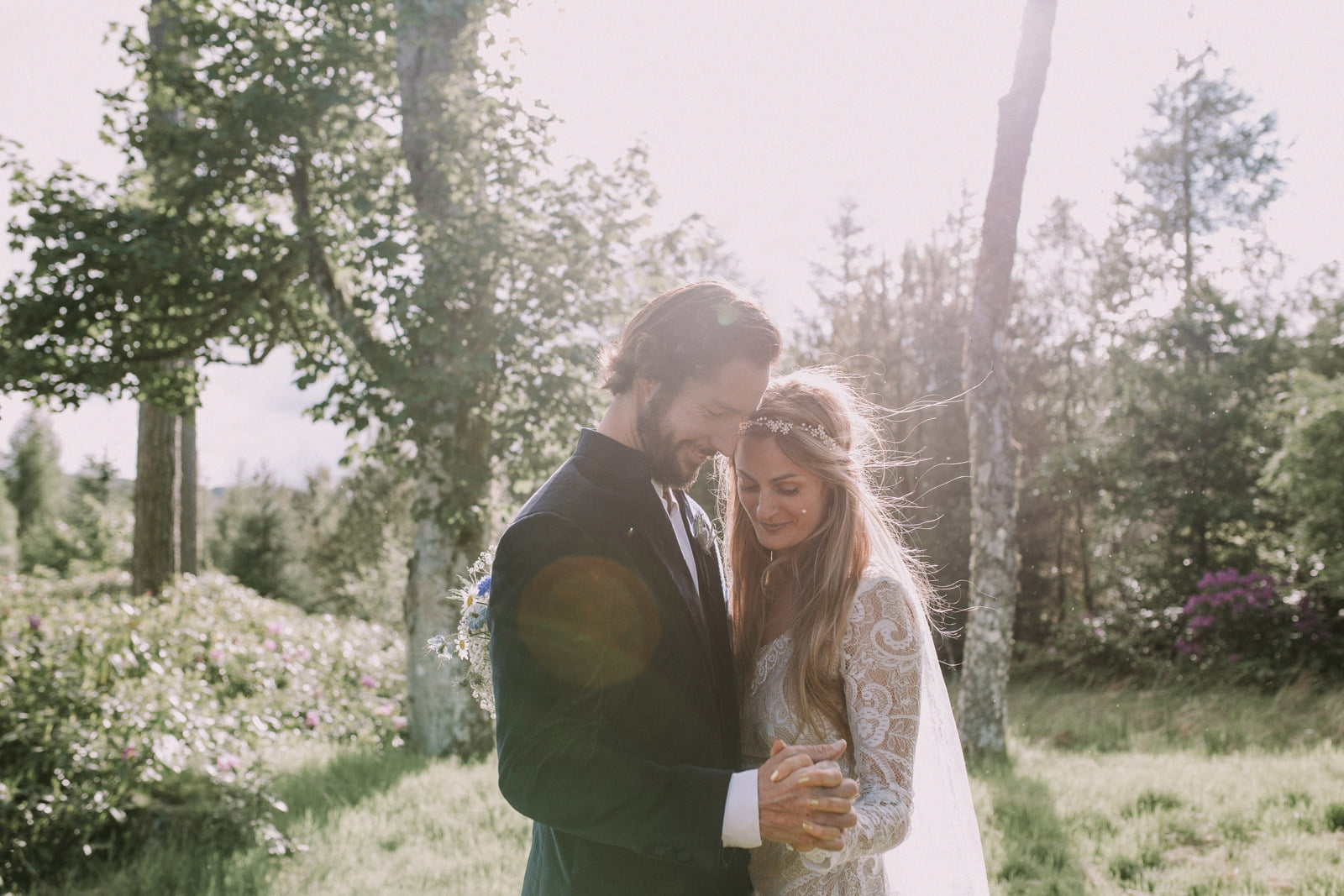 romantic wedding photography inverness