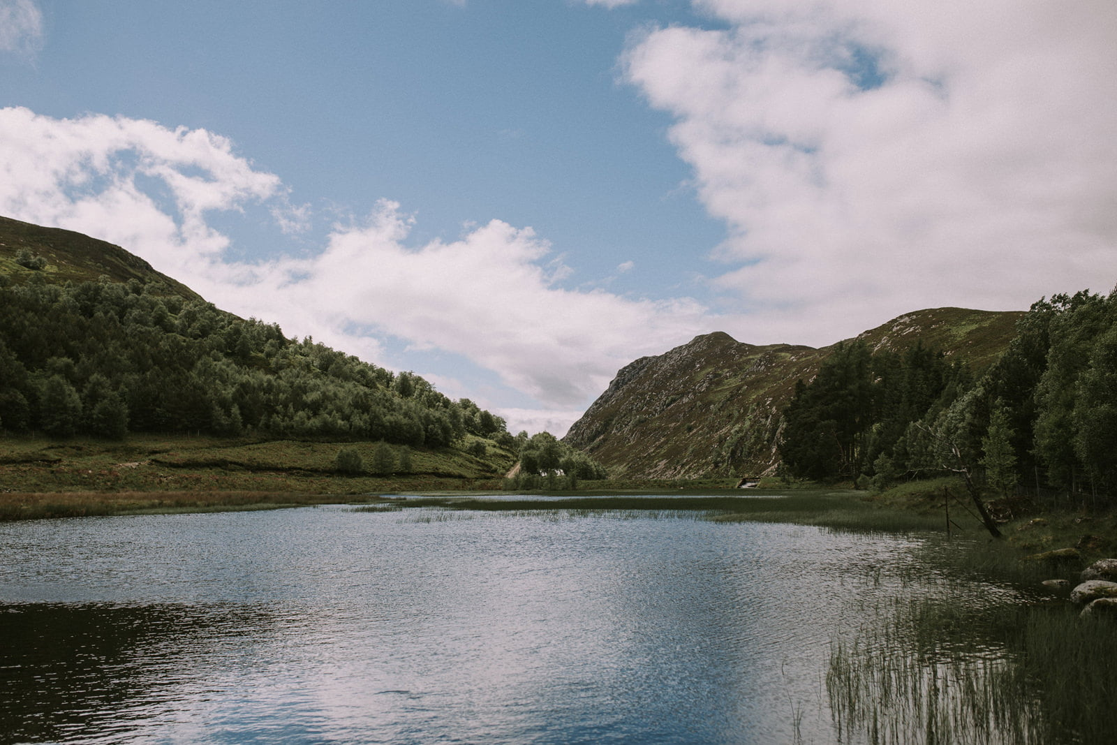 scottish highlands loch wedding