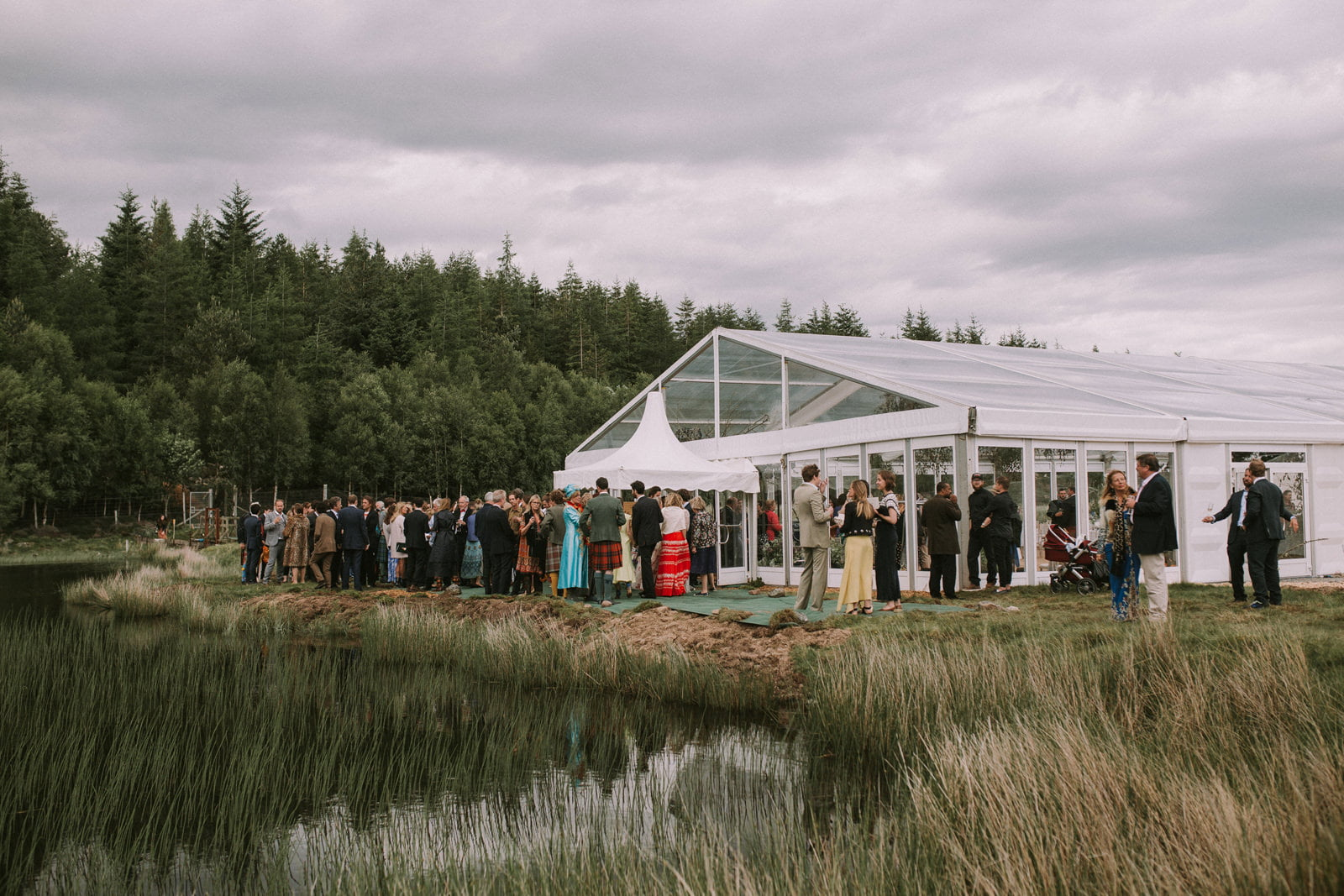 lochside wedding scotland