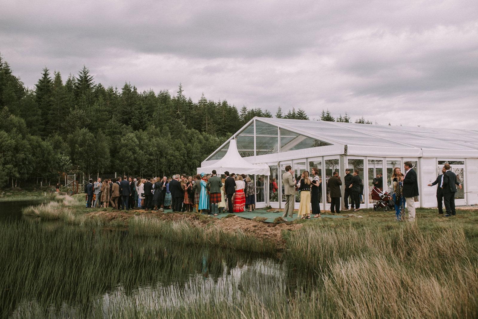 lochside wedding scotland