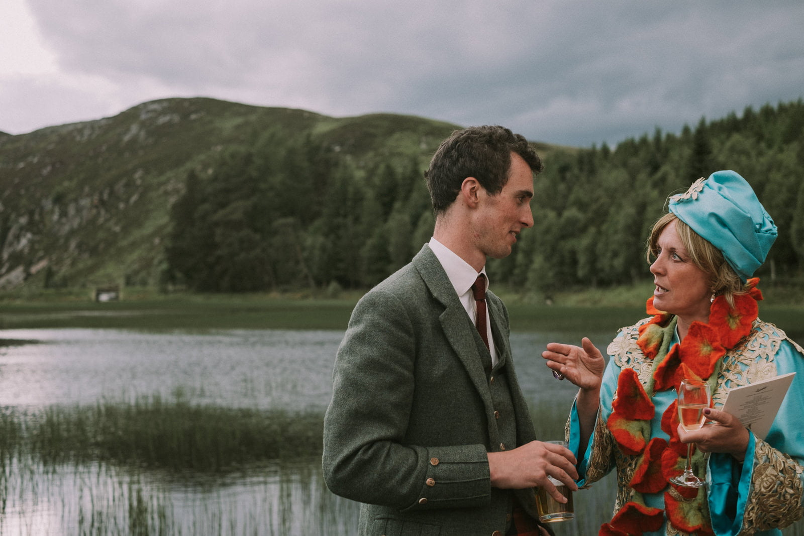 scotland bohemian wedding photographer