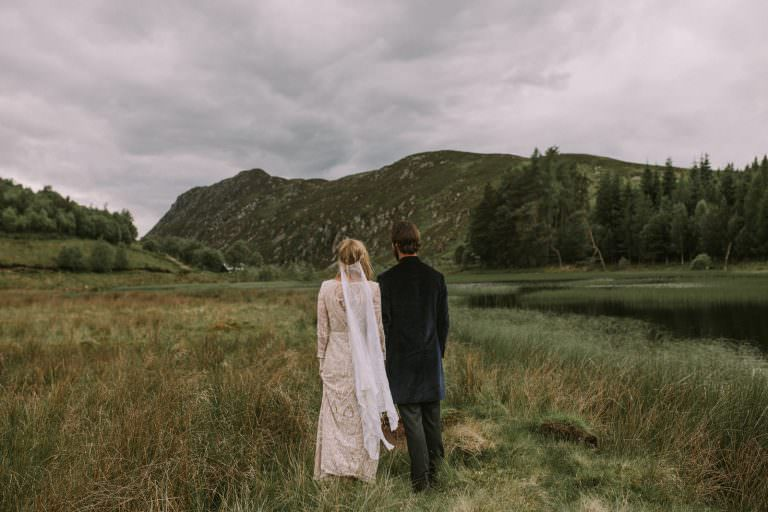 fine art scottish highlands wedding photographer