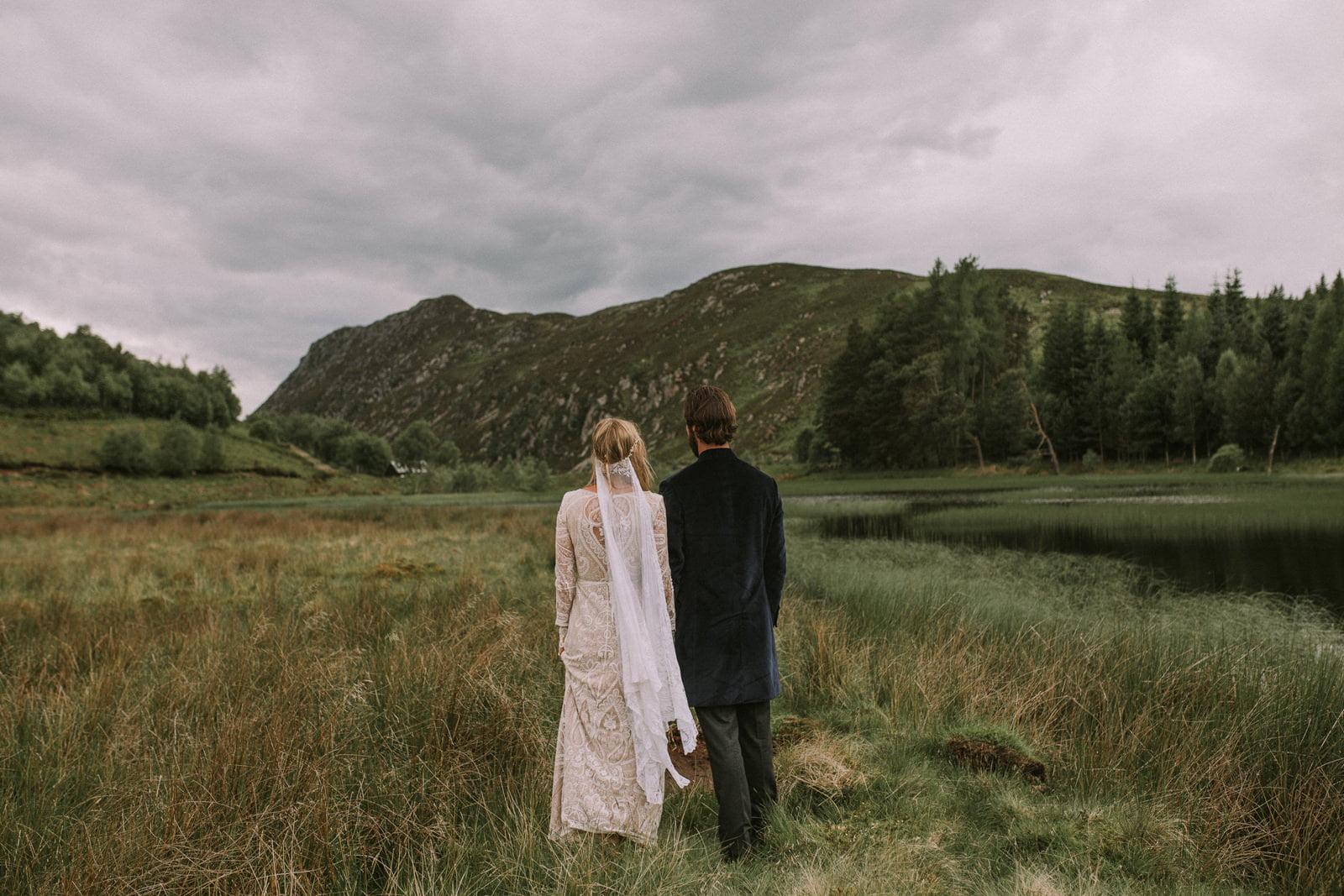 fine art scottish highlands wedding photographer