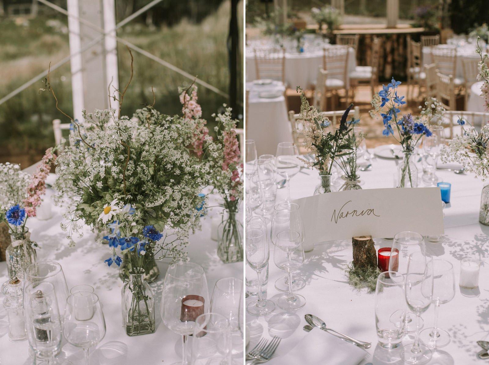 wild wedding flowers scotland