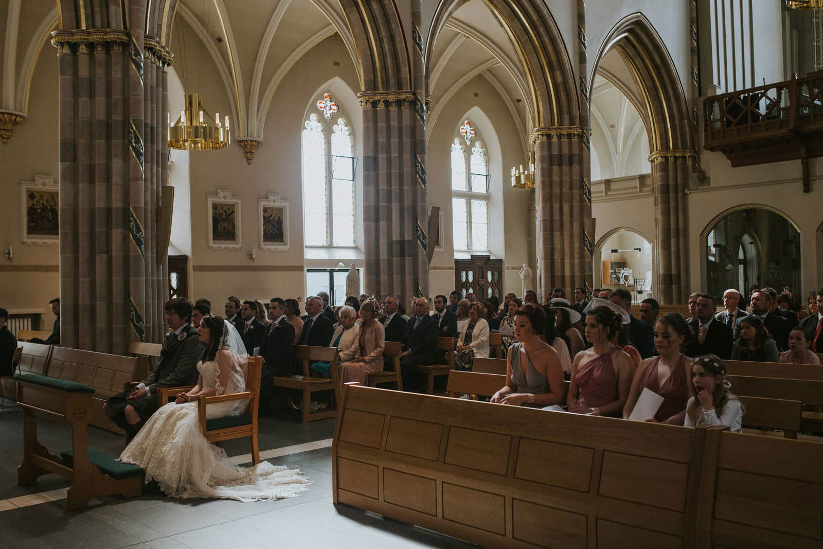 st andrews cathedral wedding photographer