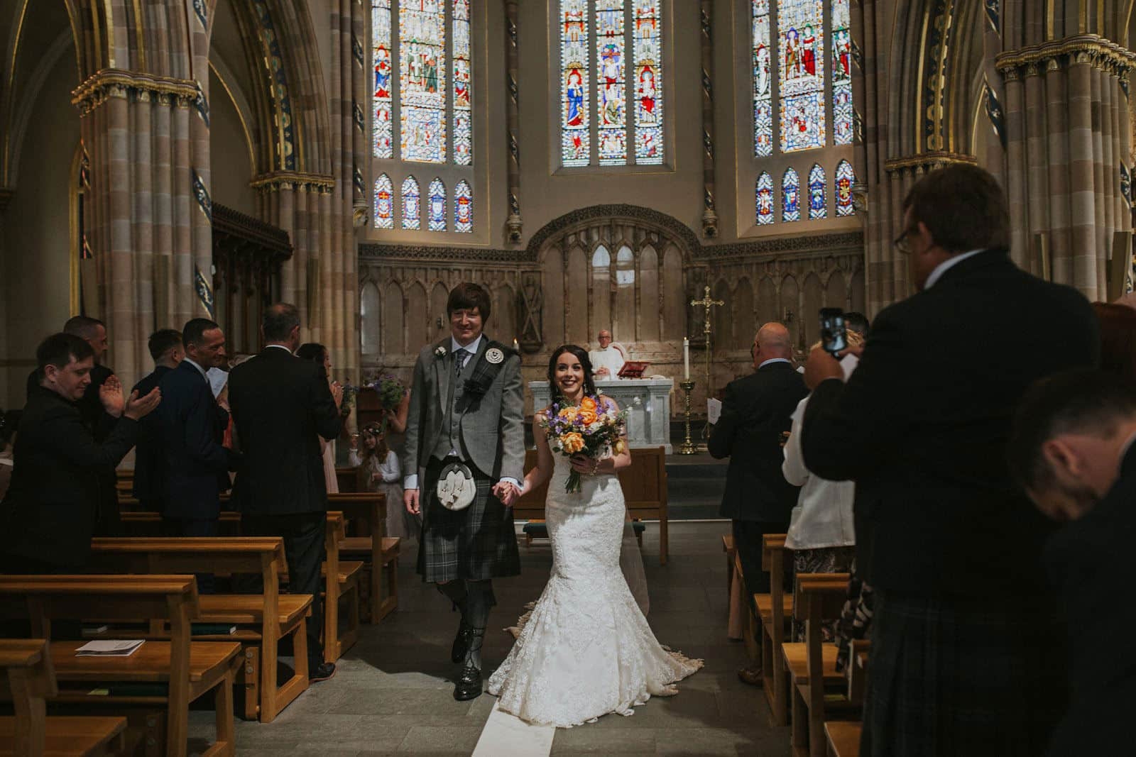 st andrews cathedral wedding glasgow