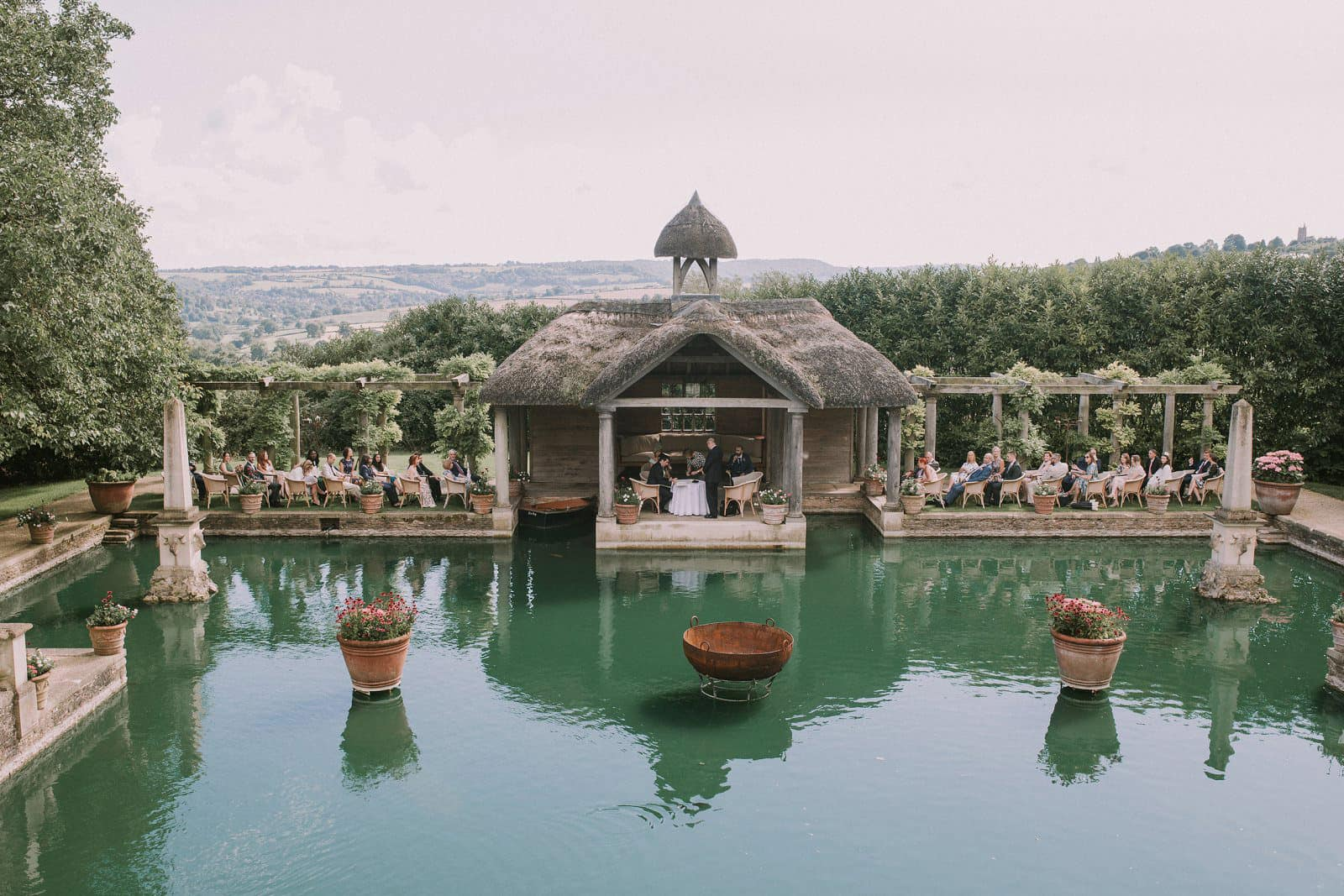 the lost orangery cotswolds wedding