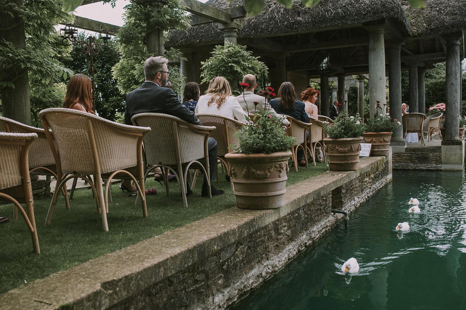 wedding photography lost orangery