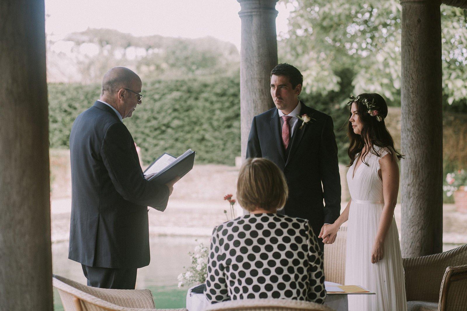 lost orangery wedding