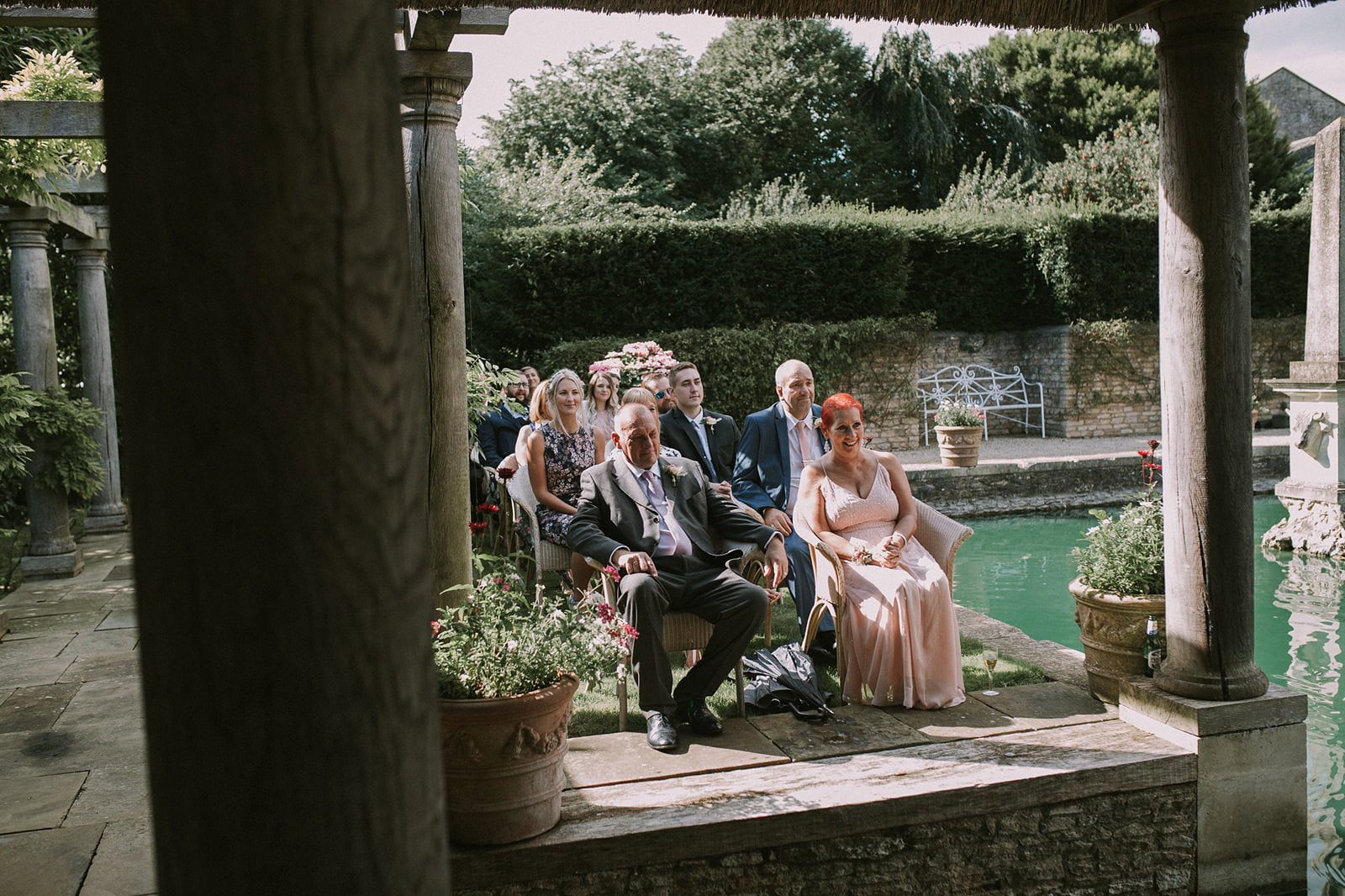 natural wedding photography lost orangery