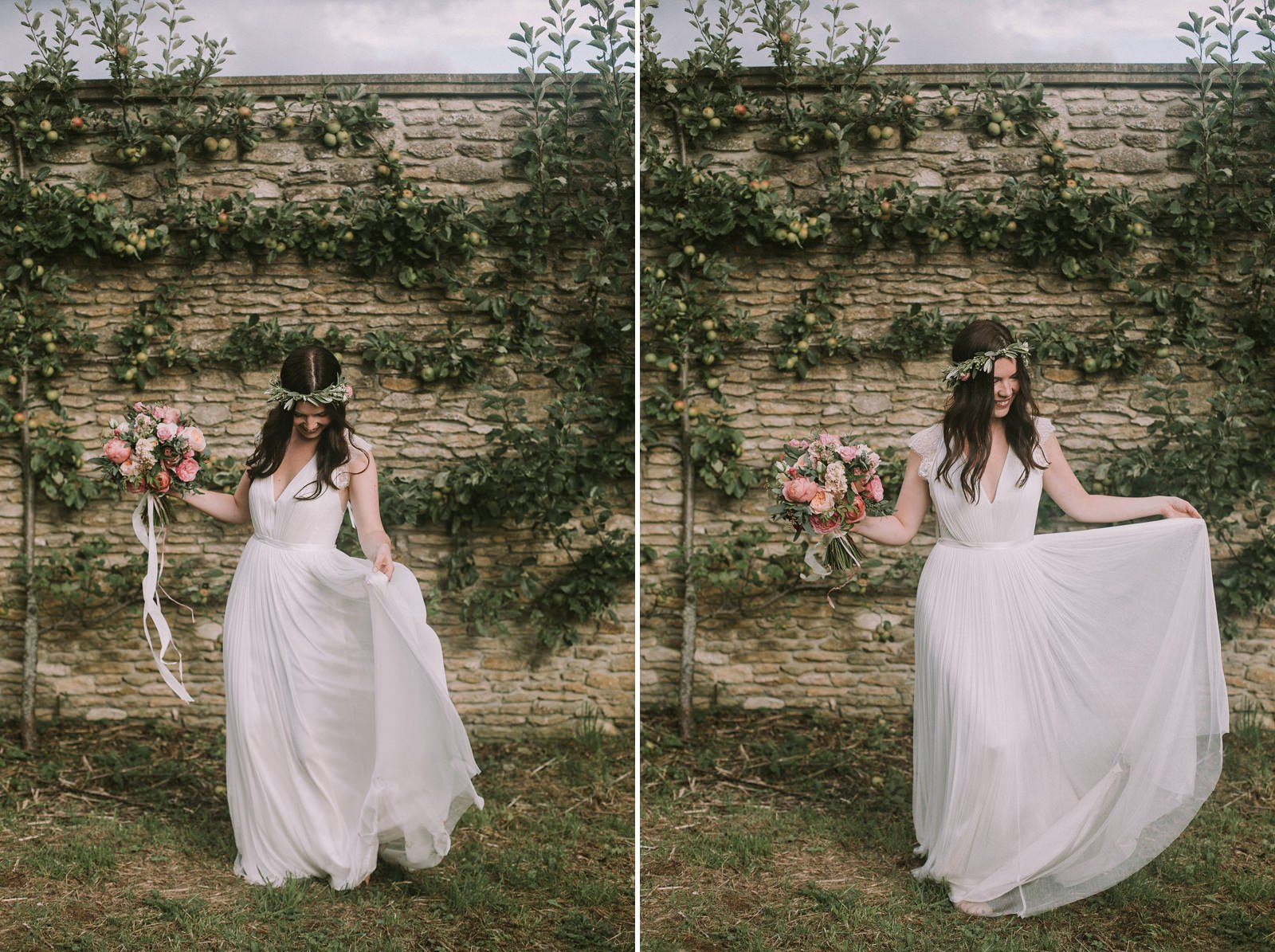 boho bride the lost orangery