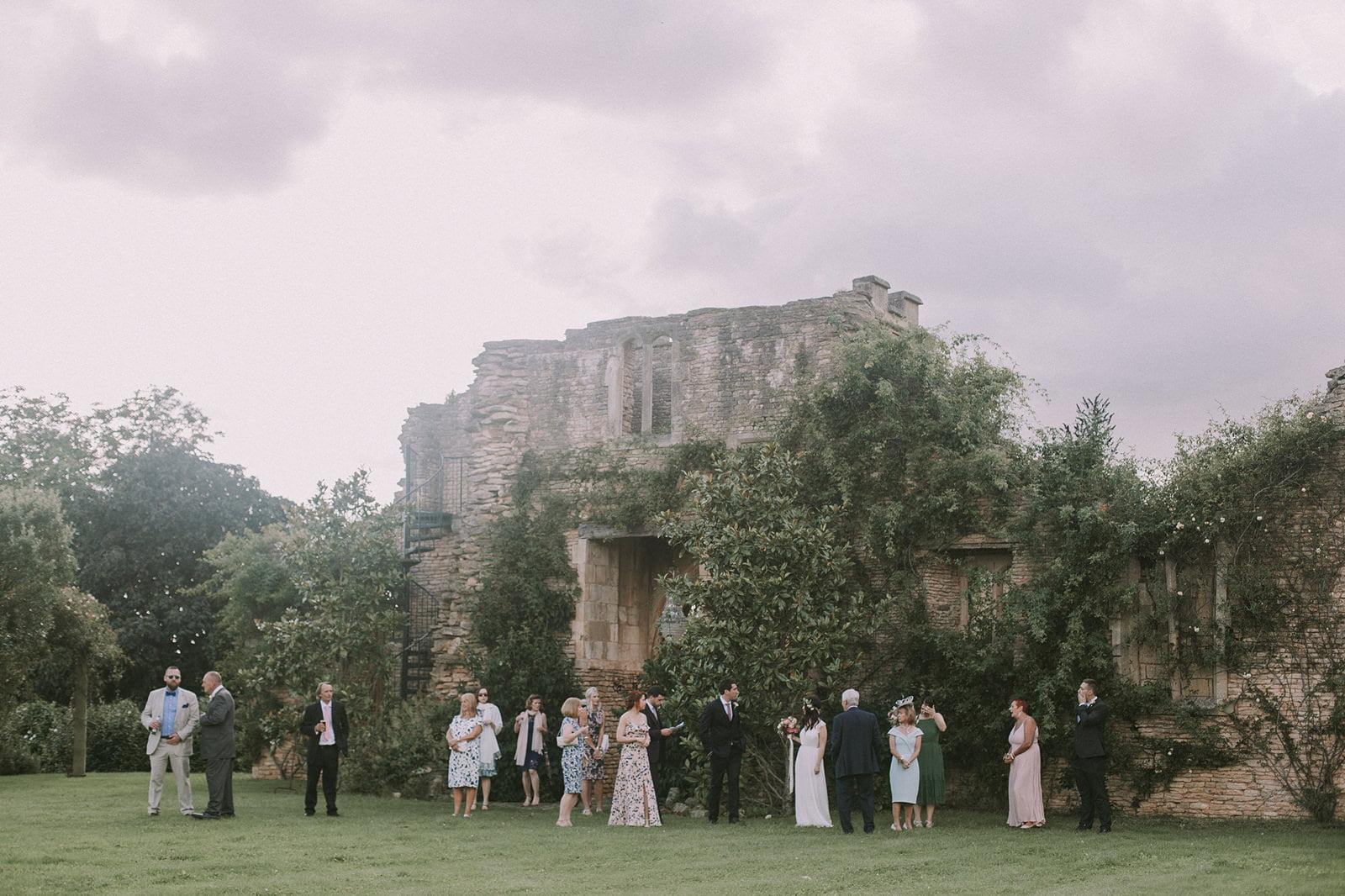 natural wedding lost orangery