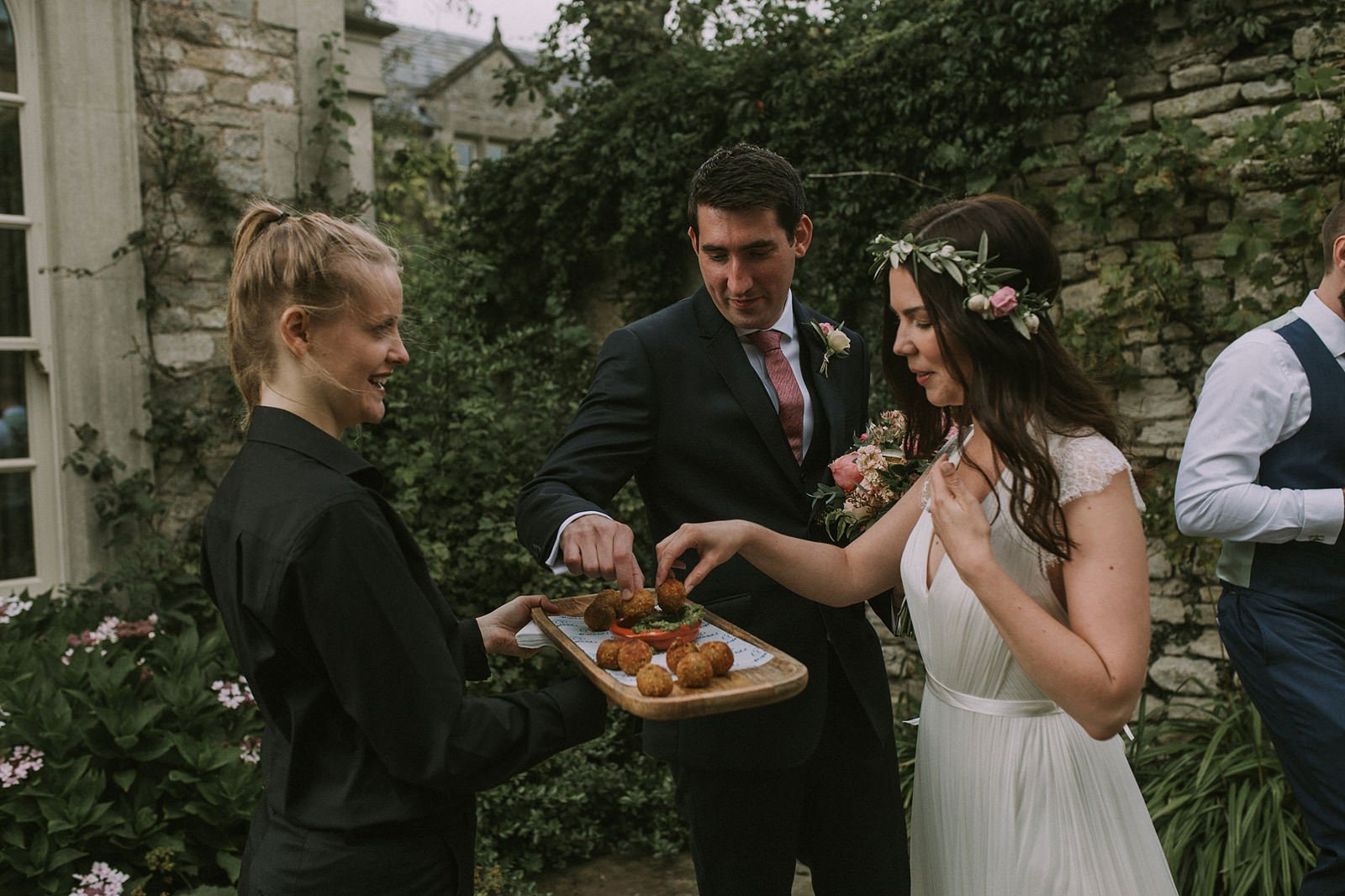 bohemian wedding cotswolds