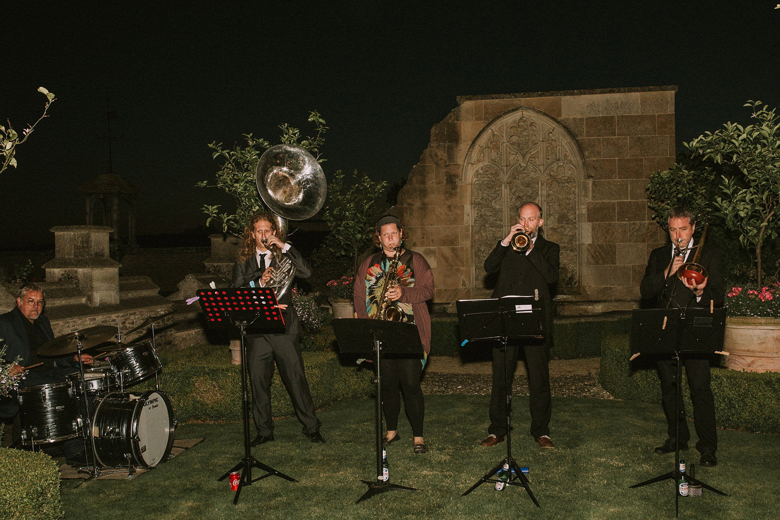 brass band wedding