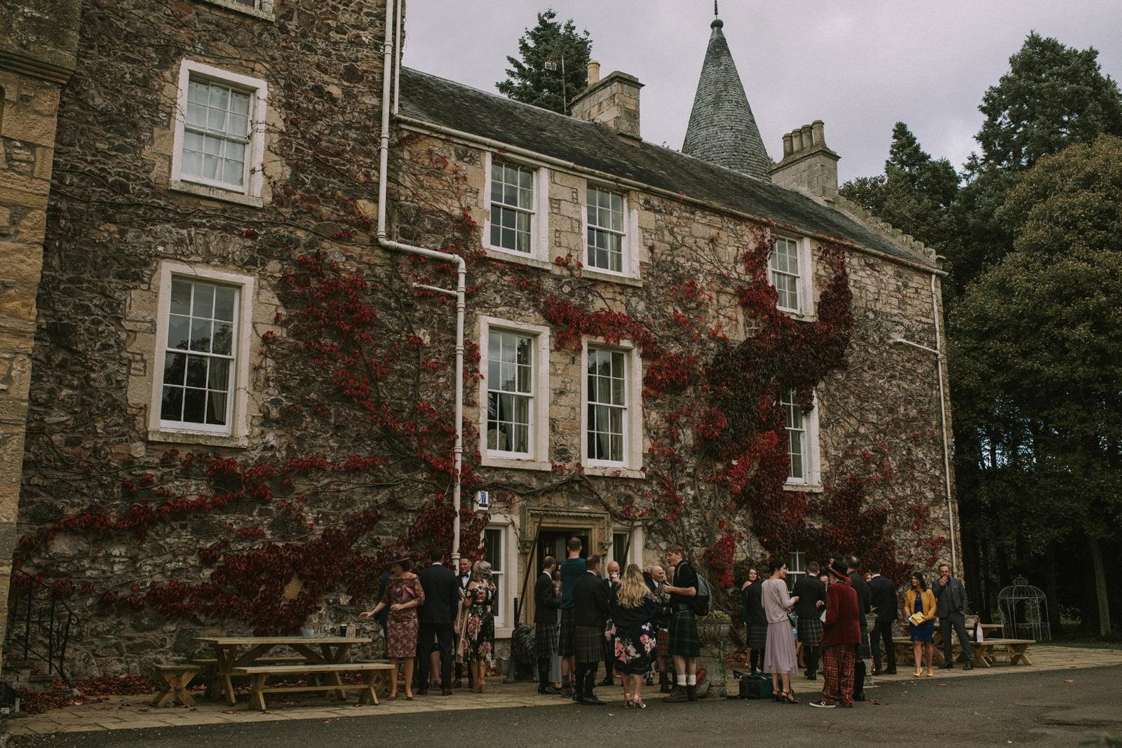 cupar fernie castle wedding