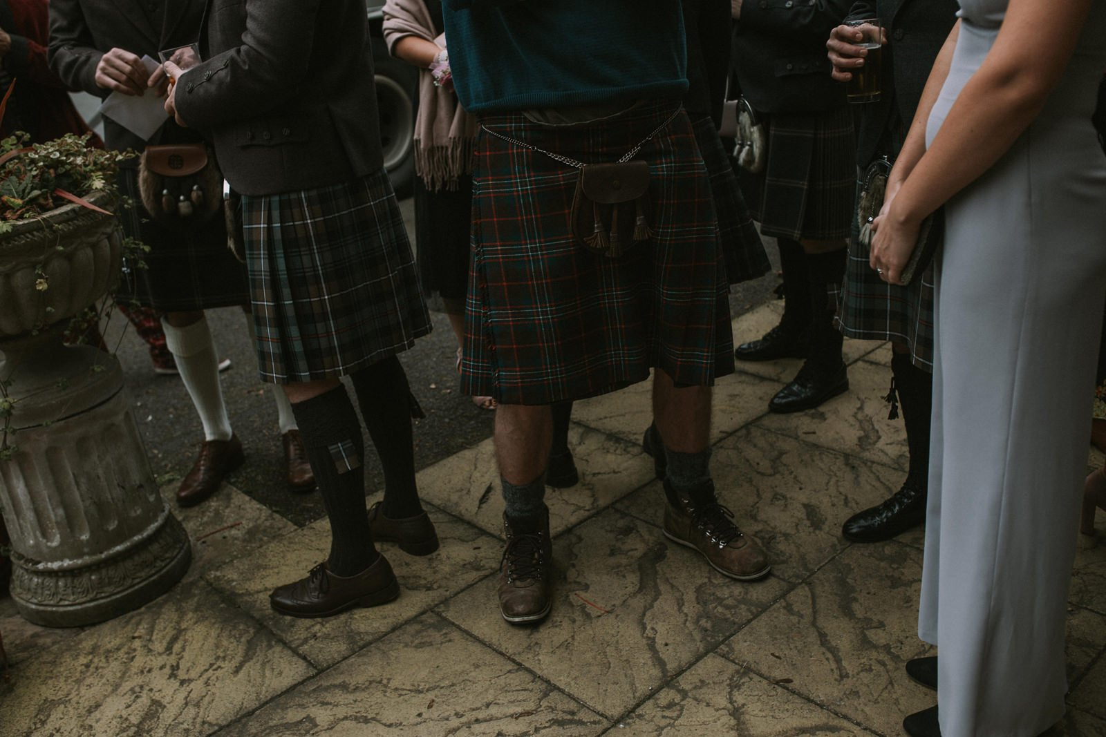 alternative scottish wedding