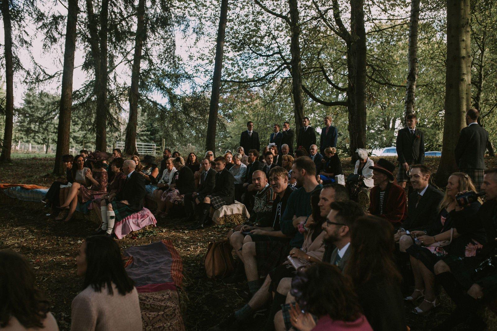 scotland woodland wedding