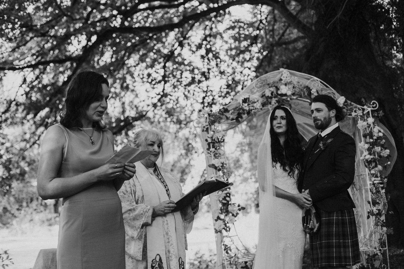 emotional wedding photos scotland