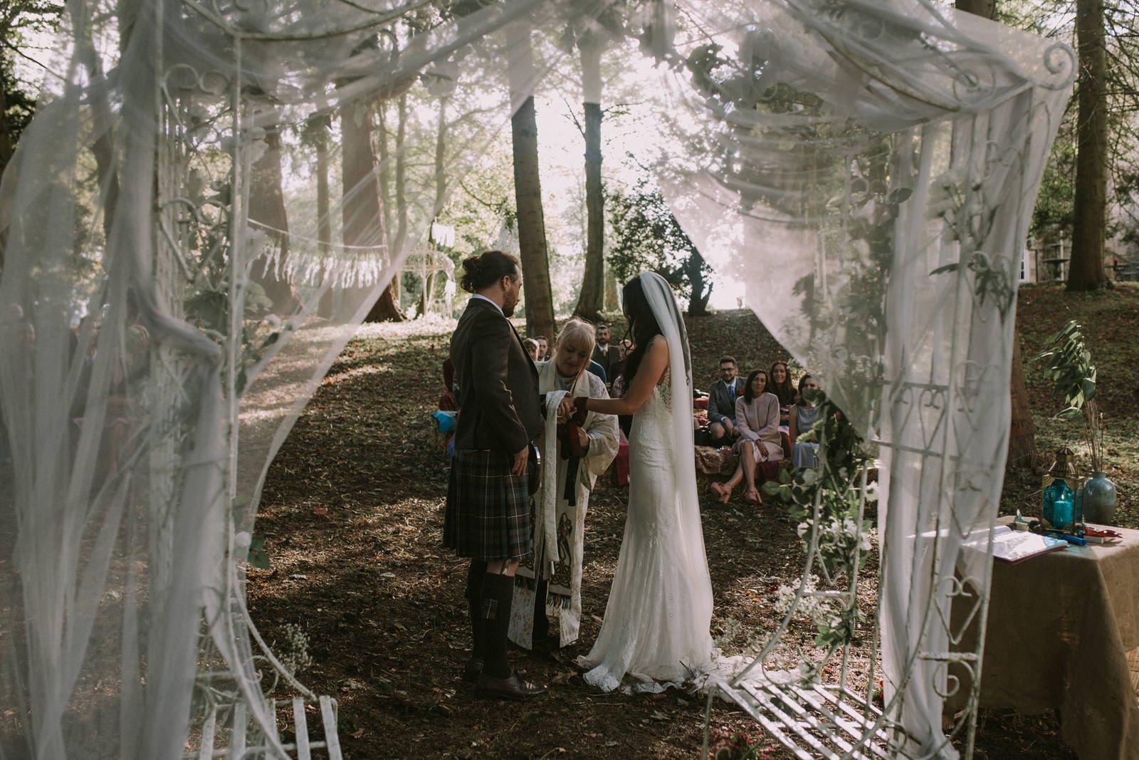 tie the knot spiritual wedding
