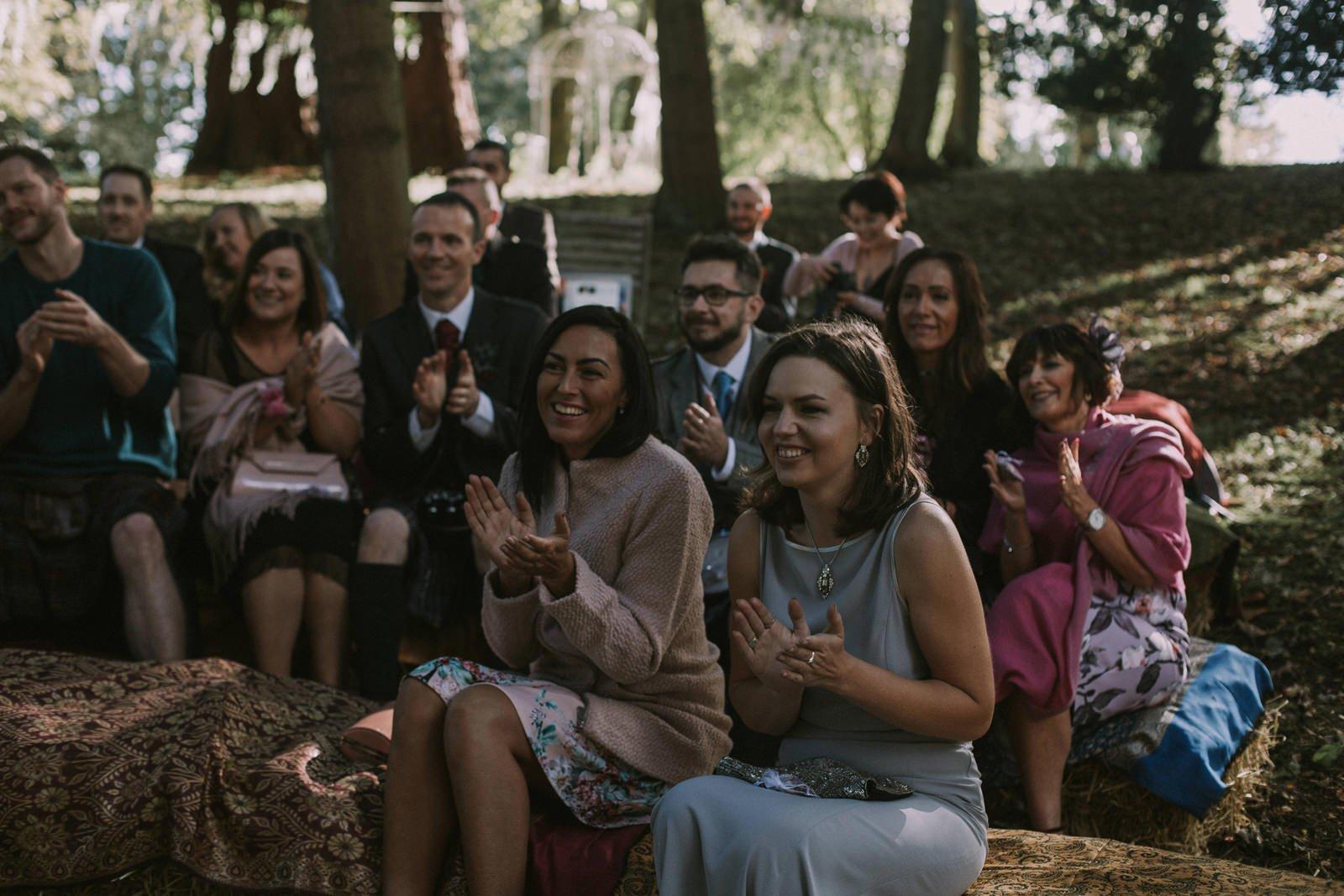 fernie castle wedding photos
