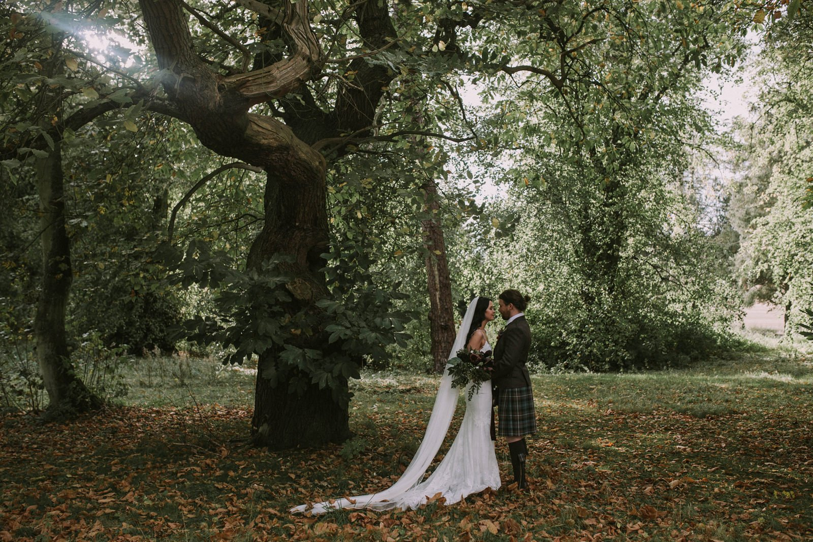 forest wedding scotland