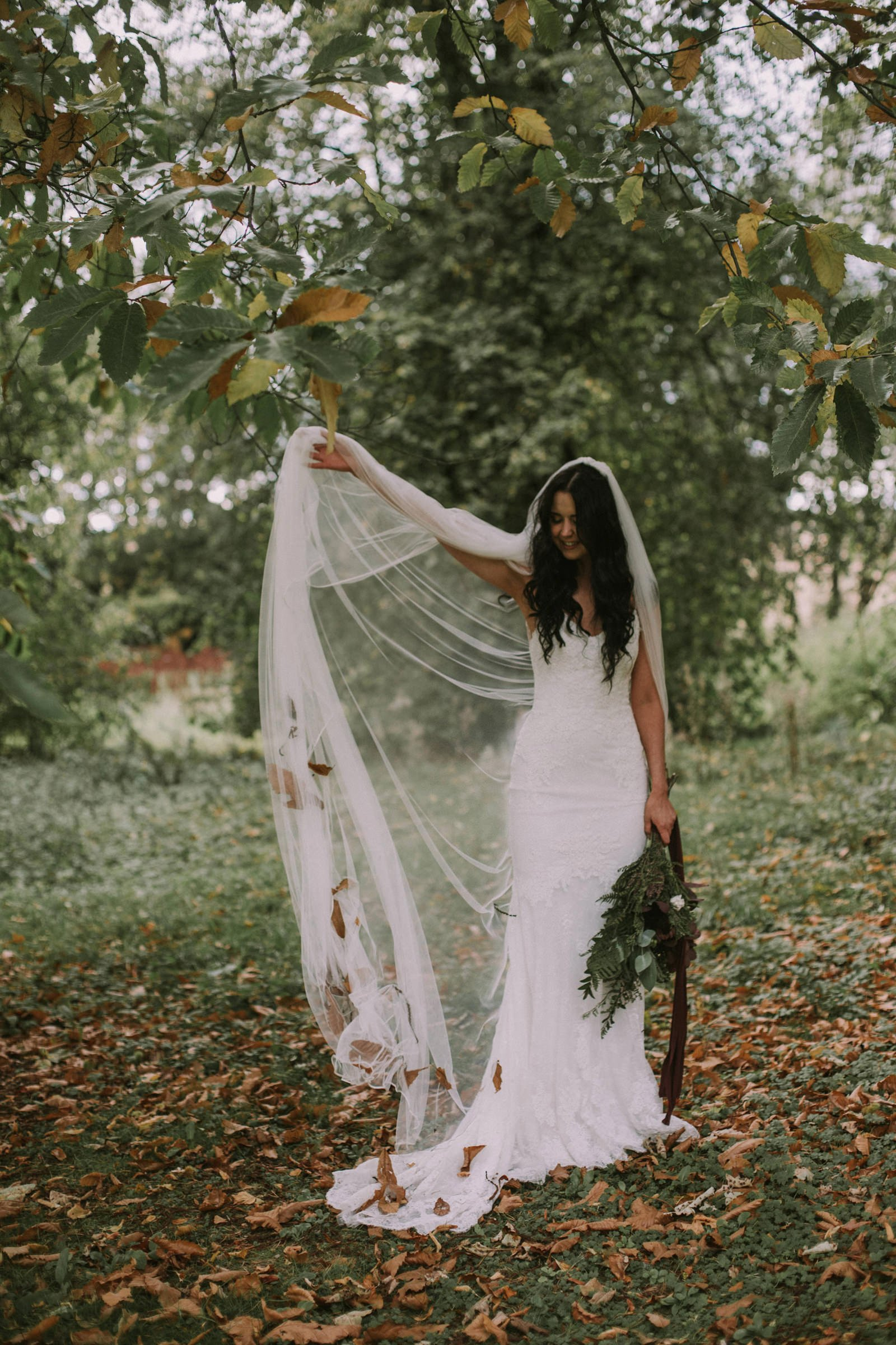 wedding autumn scotland inspiration