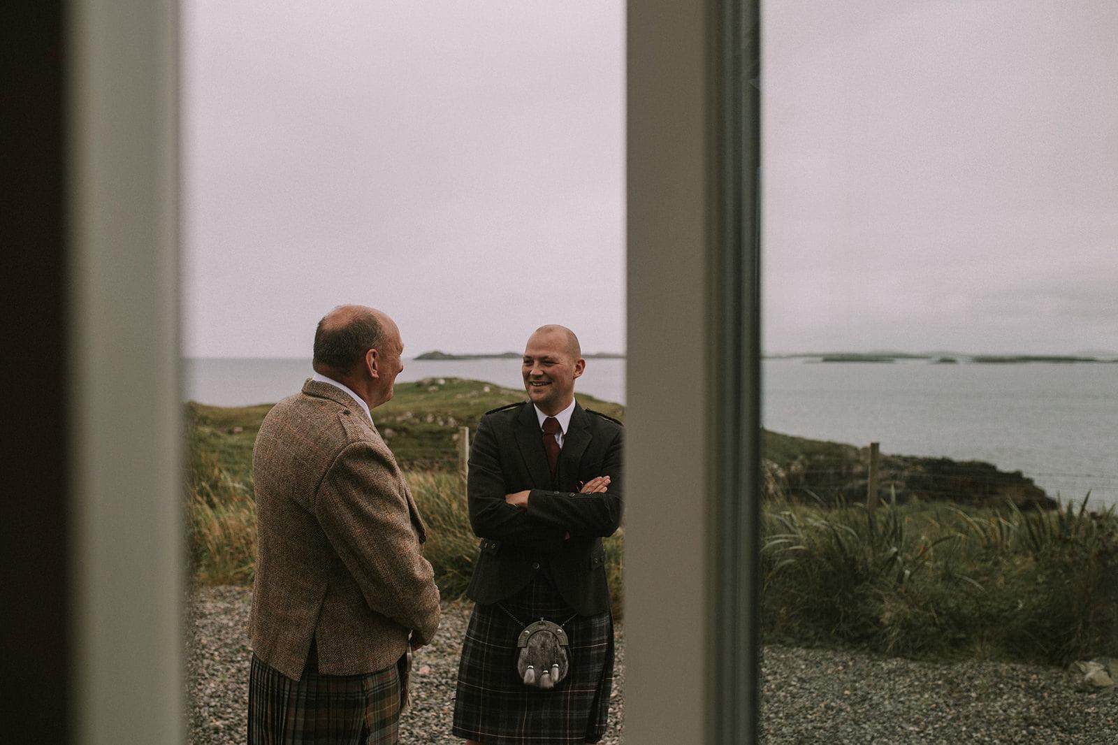 western isles wedding photos