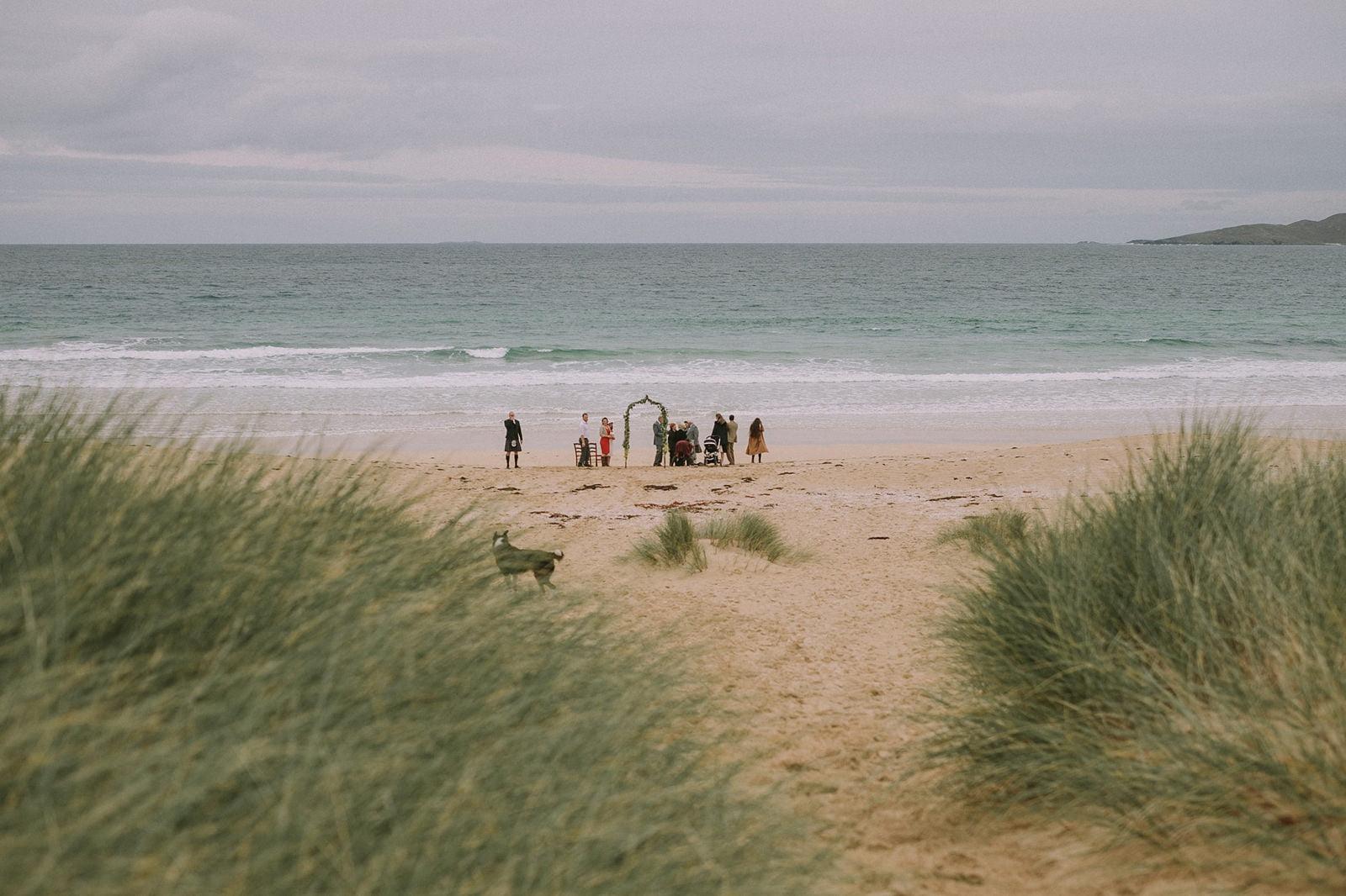 isle of harris wedding scarista beach