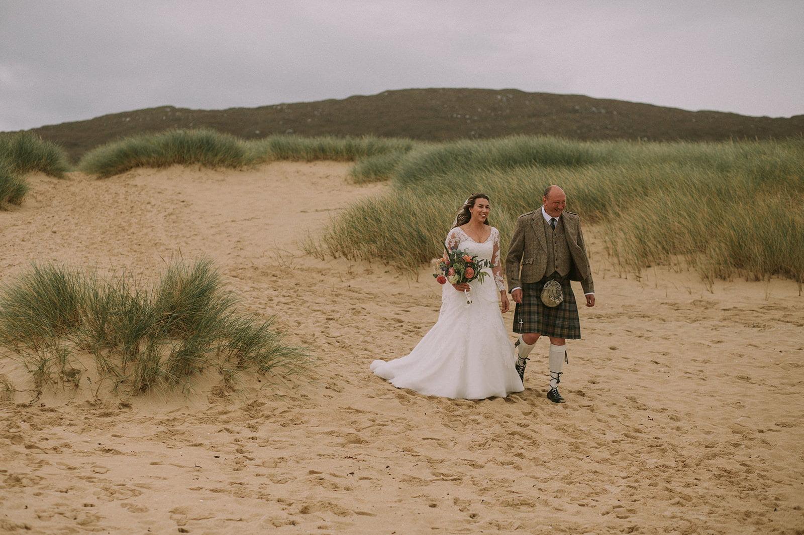 isle of harris natural wedding photographer